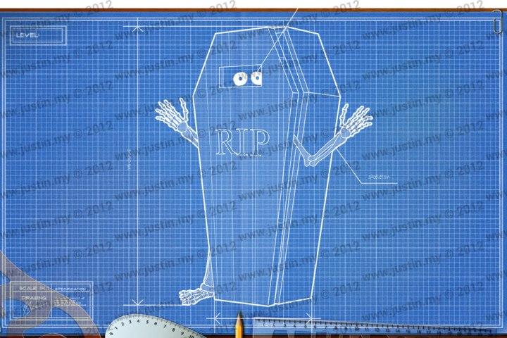 BluePrint 3D Halloween Level 12