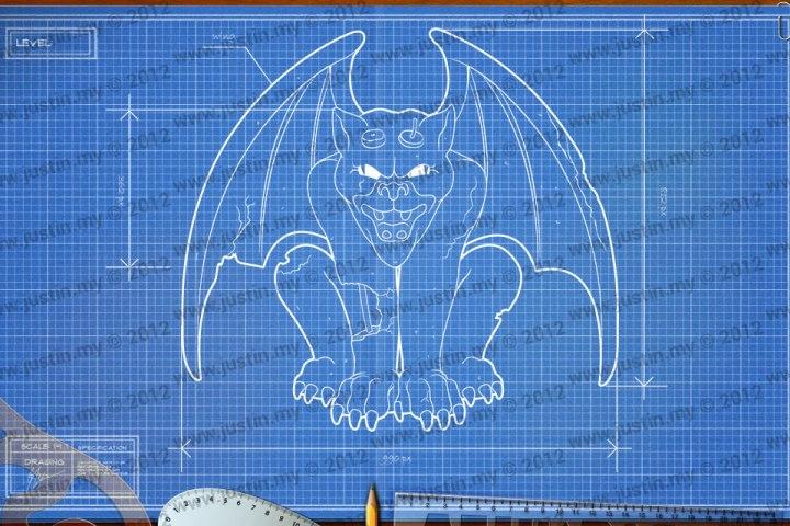 BluePrint 3D Halloween Level 6