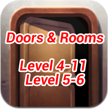 Doors and Rooms 4 11 5 6