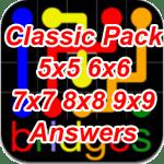 Flow Bridges Classic Pack 5×5 6×6 7×7 8×8 9×9 Answers