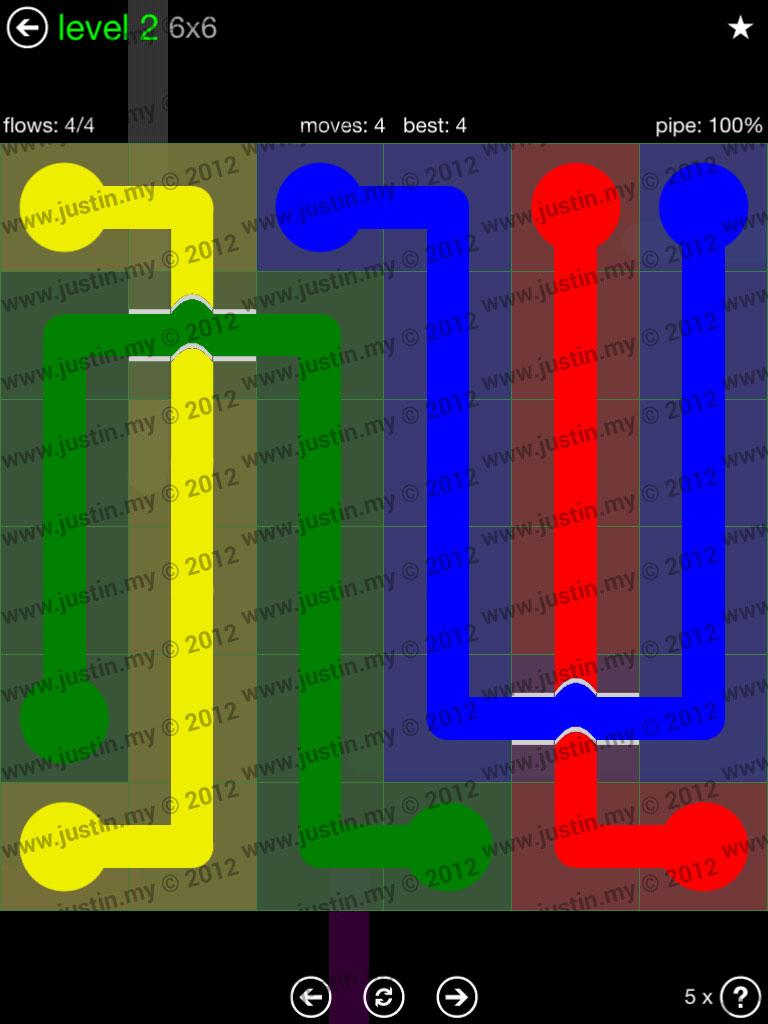 Flow Bridges 6x6 Level 2