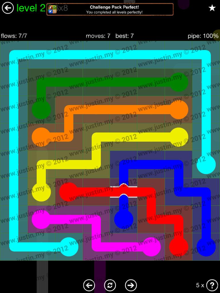 Flow Bridges 8x8 Level 27
