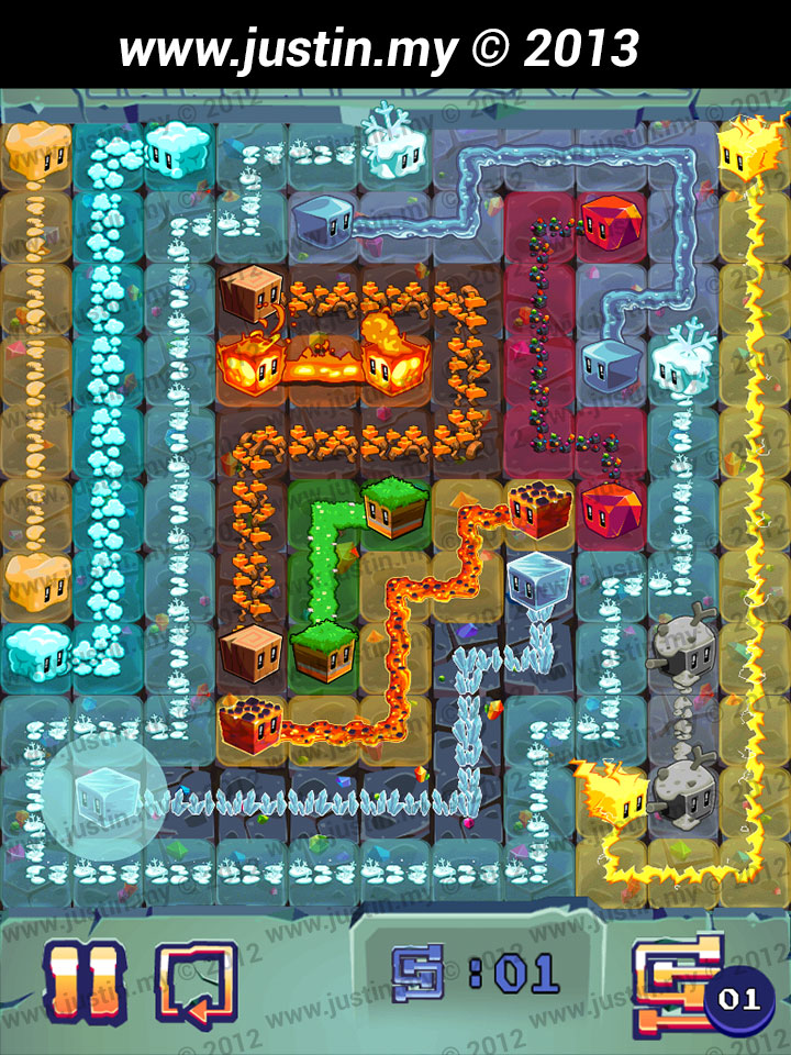 Lost Cubes 11x11 Level 16