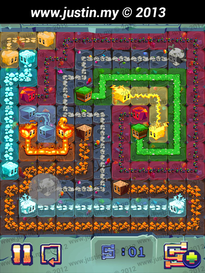 Lost Cubes 11x11 Level 24