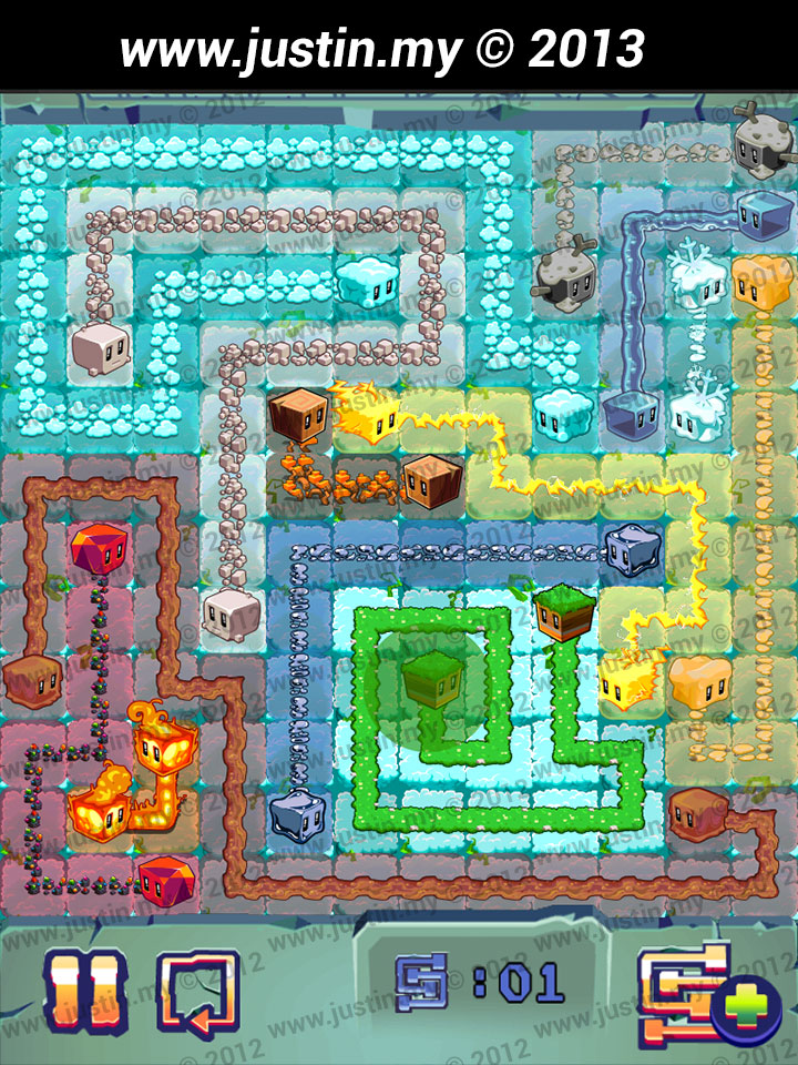Lost Cubes 12x12 Level 1