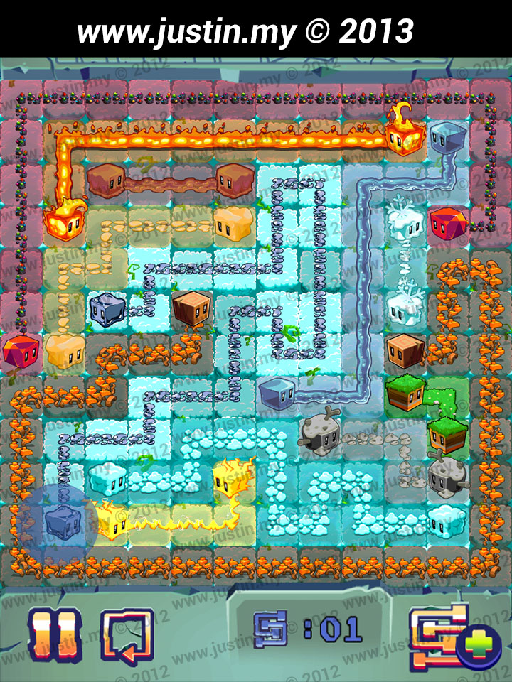 Lost Cubes 12x12 Level 21