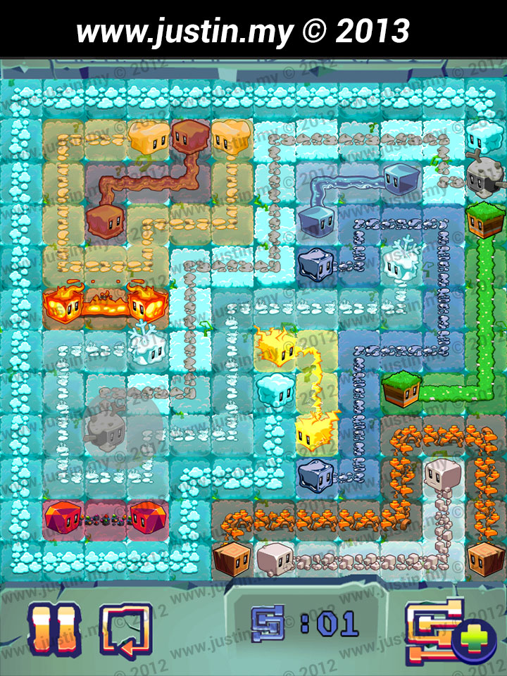 Lost Cubes 12x12 Level 8