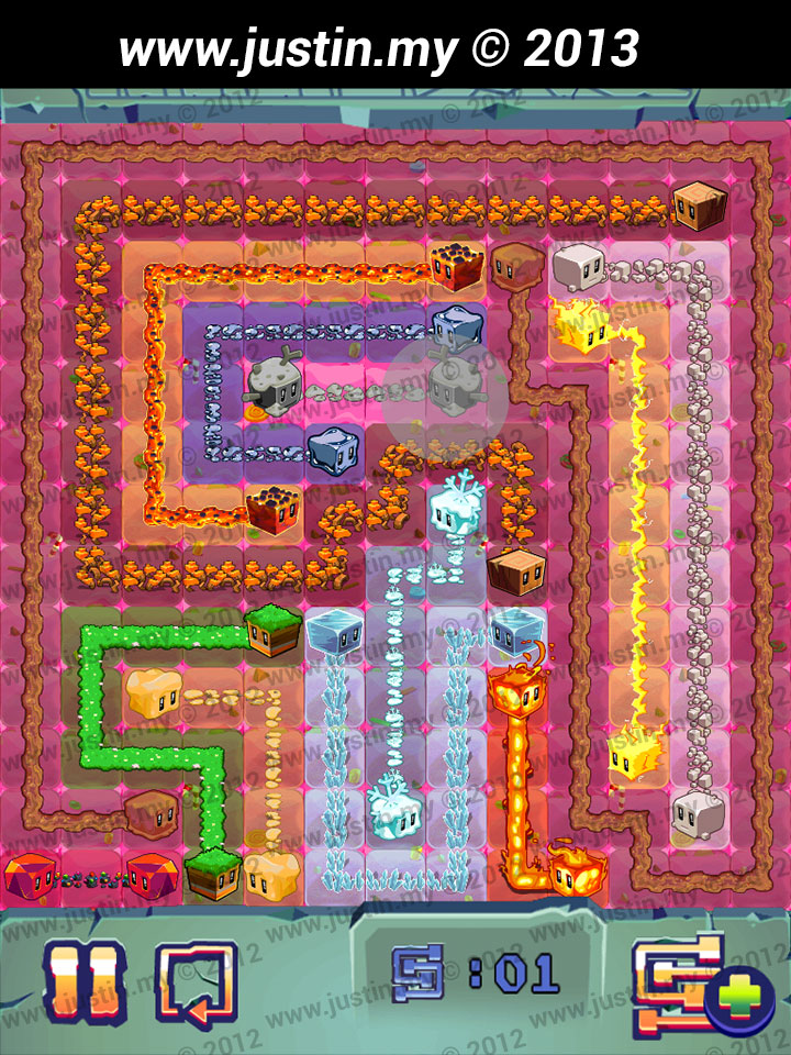 Lost Cubes 13x13 Level 30