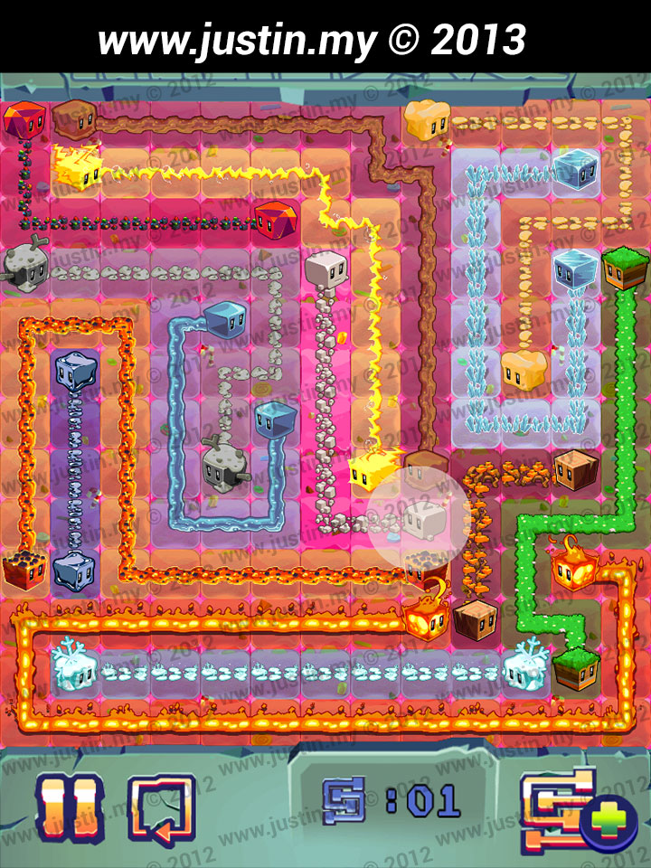 Lost Cubes 13x13 Level 40