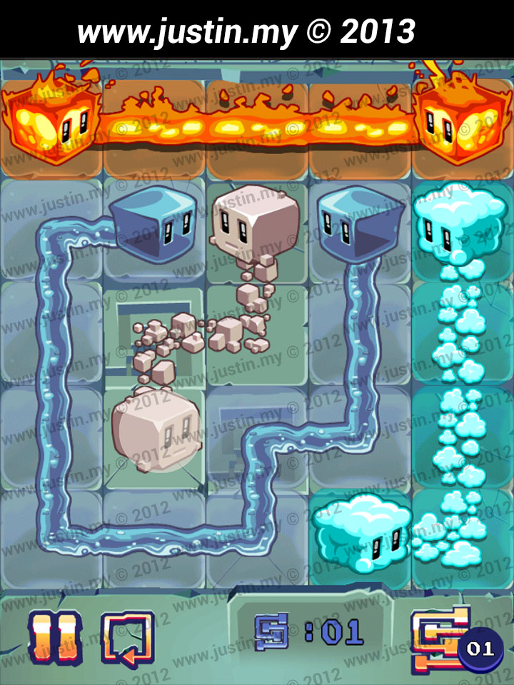 Lost Cubes 5x5 Level 18