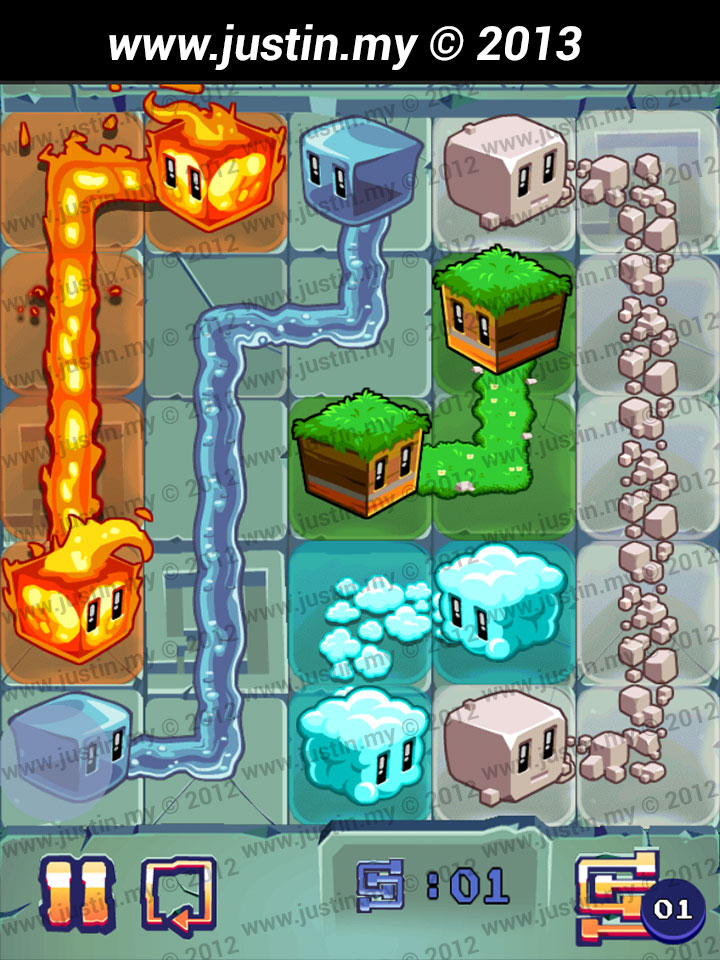 Lost Cubes 5x5 Level 4