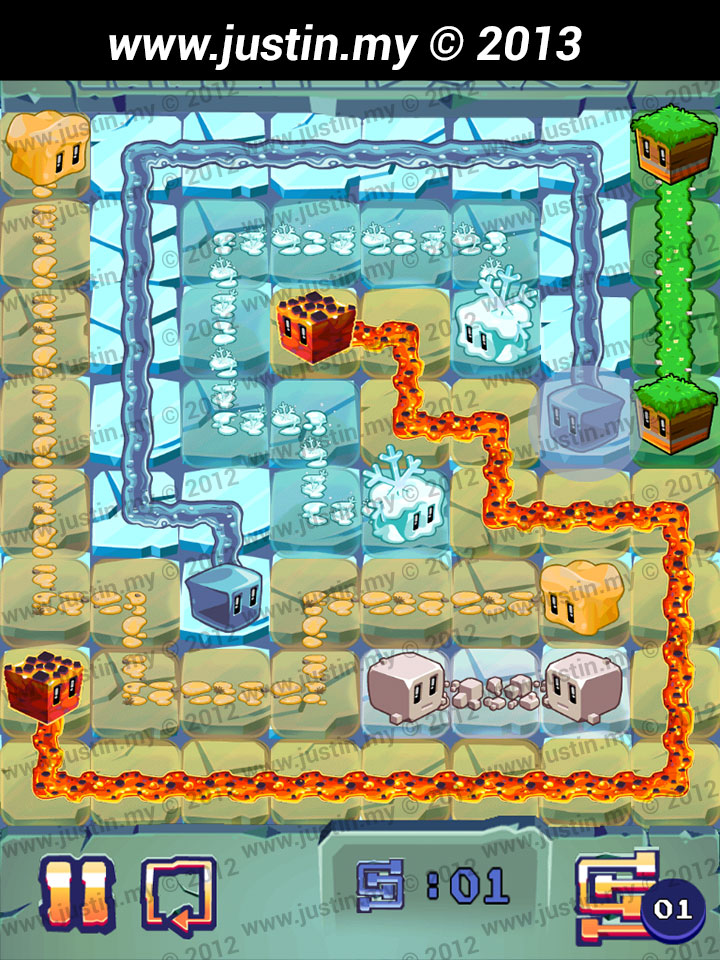 Lost Cubes 8x8 Level 13