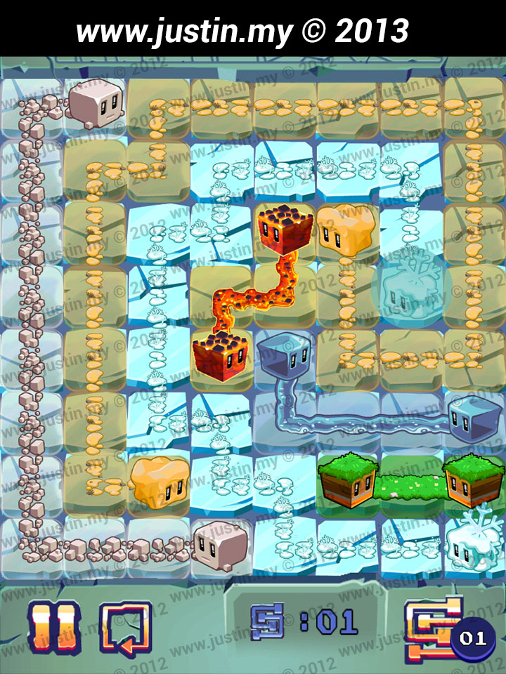 Lost Cubes 8x8 Level 15