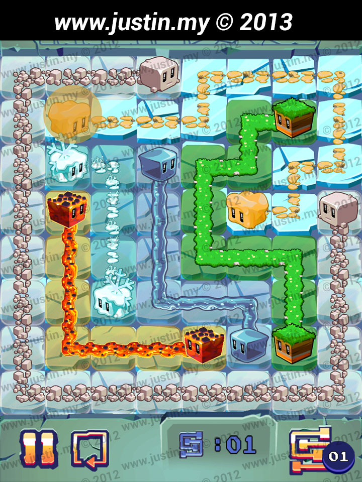 Lost Cubes 8x8 Level 29