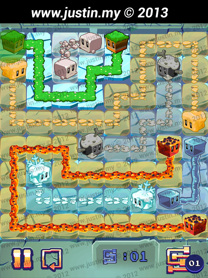 Lost Cubes 8x8 Level 39