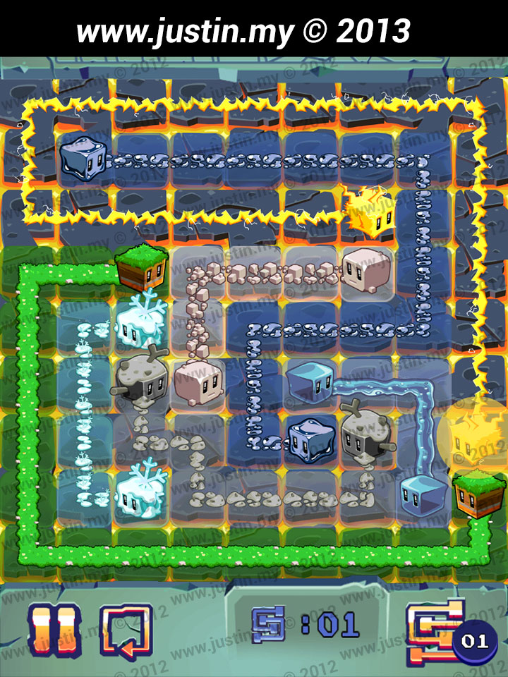 Lost Cubes 9x9 Level 21