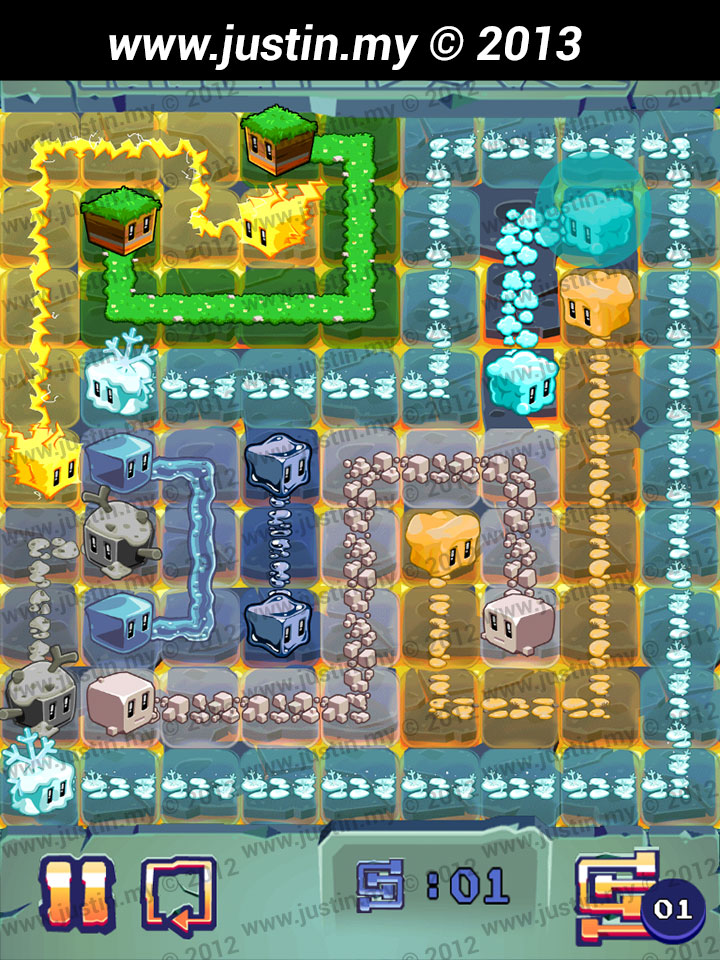 Lost Cubes 9x9 Level 37