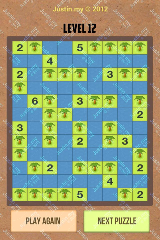 Number Island Nurikabe Master Pack Level 12