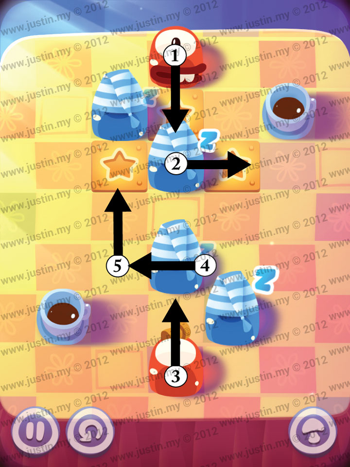 Pudding Monsters Level 8