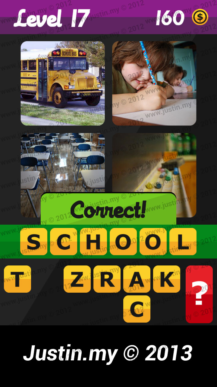 What's the Word Answers Level 17