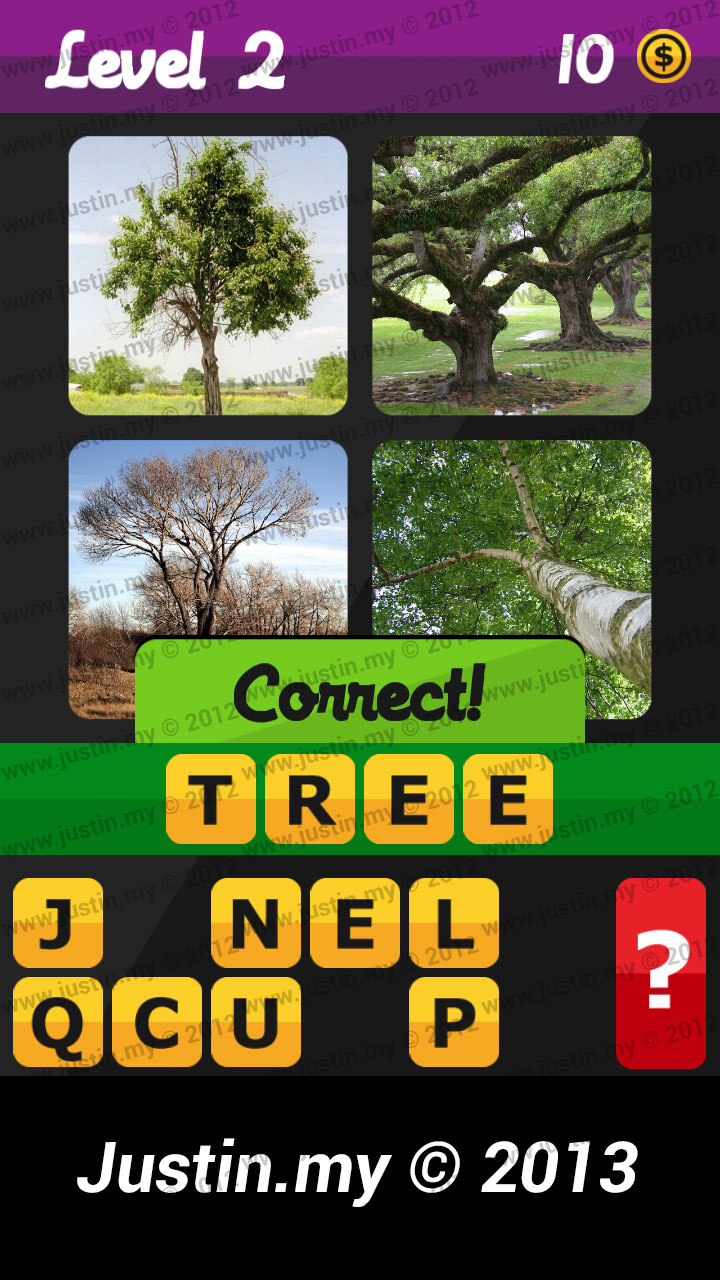 What's the Word Answers Level 2