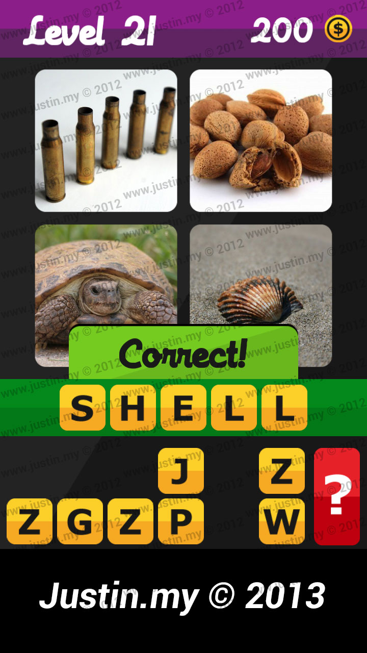 What's the Word Answers Level 21
