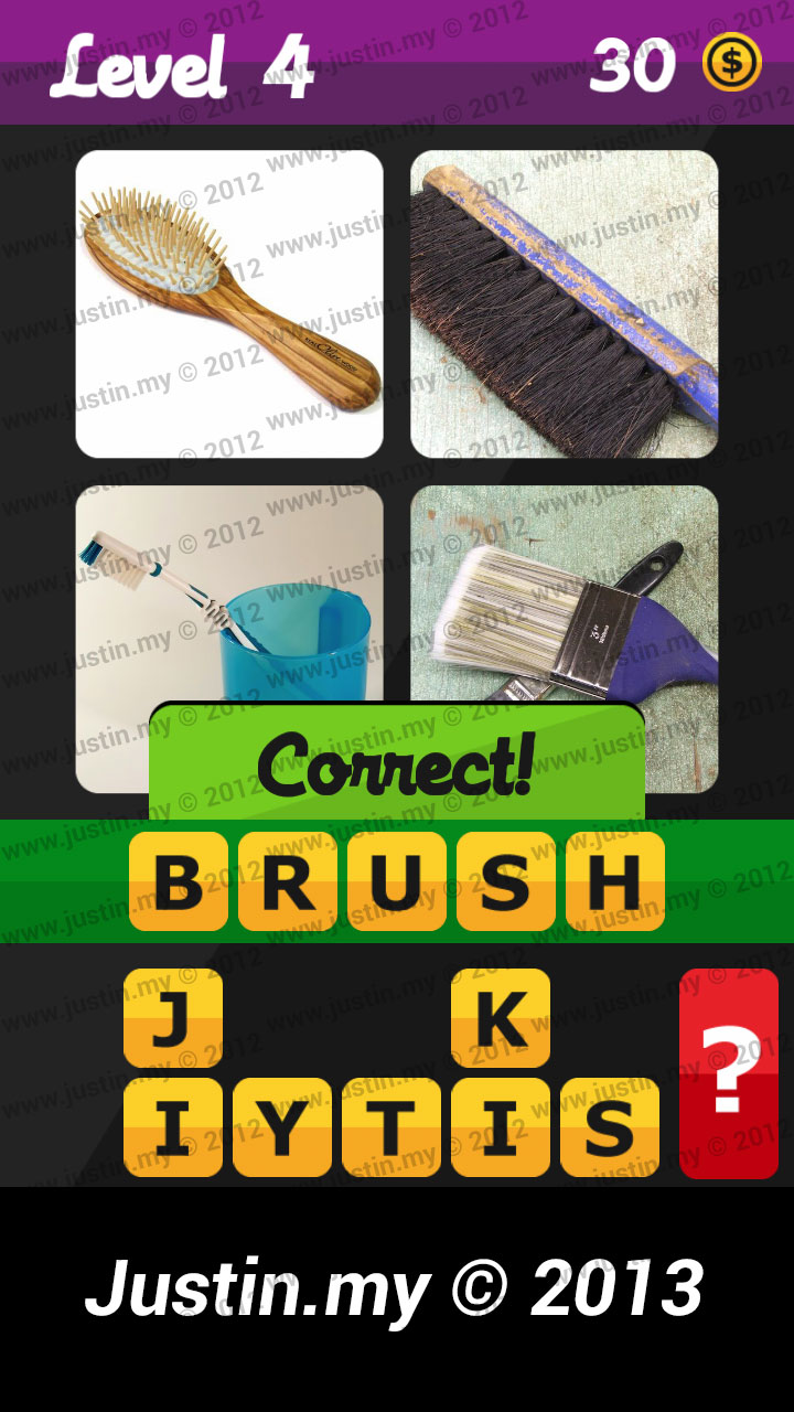 What's the Word Answers Level 4