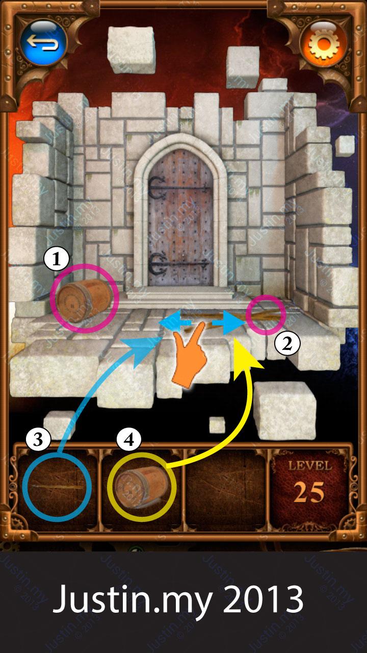 100 Doors Parallel Stage 2 Level 25