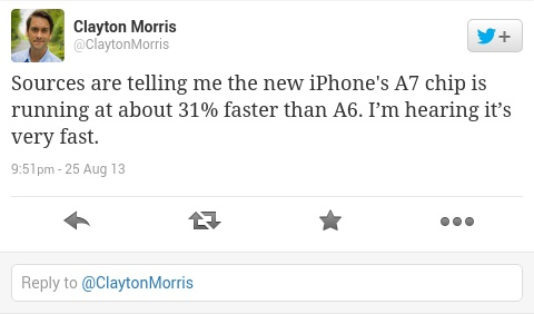 iPhone 5S powered by A7 chip said to be 31 faster-01