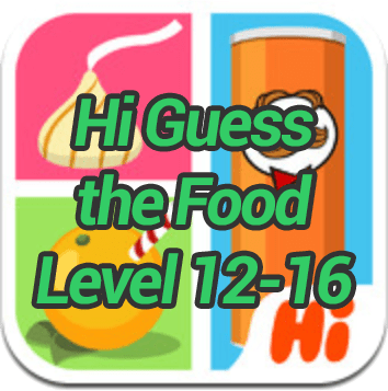 Hi Guess the Food Level 12 16