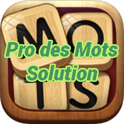 Pro Des Mots Solution