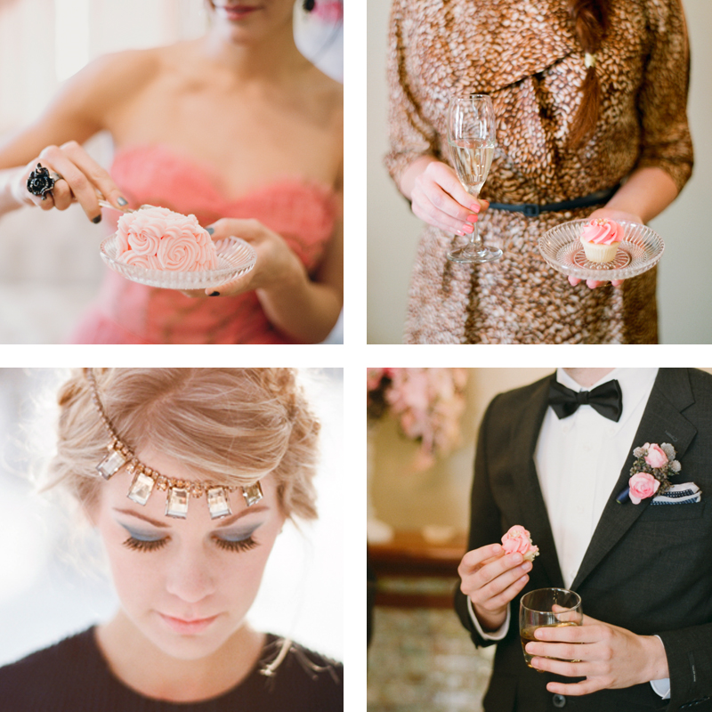 A Vintage Cocktail Party // Justine Celina