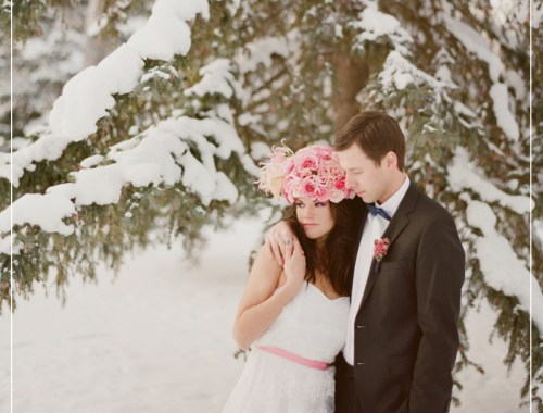Winter Wedding Inspiration // justinecelina