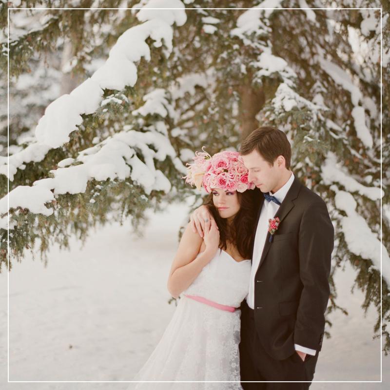 Winter Wedding Inspiration // justinecelina