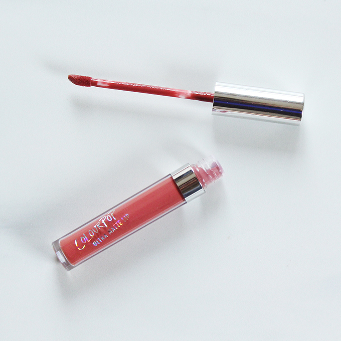 Colourpop Ultra Matte Lip in Bumble Photos, Review, Swatches // JustineCelina.com