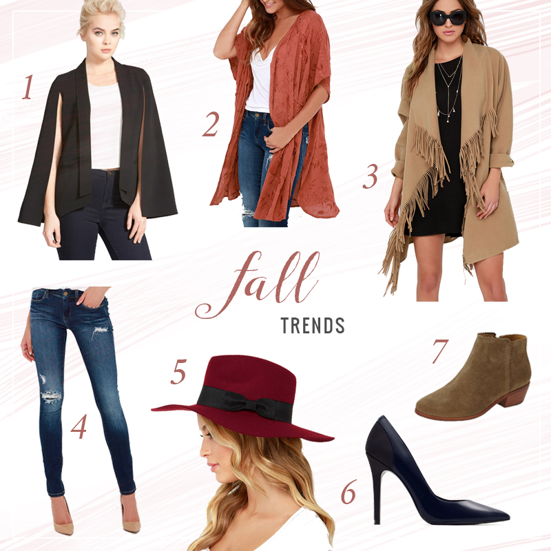 Fall Fashion Trends 2015 // JustineCelina.com