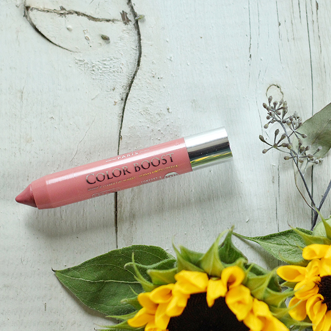 Best in Beauty | August 2015 | Bourjois Color Boost Lip Crayon in Proudly Naked Photos, Review, Swatches // JustineCelina.com