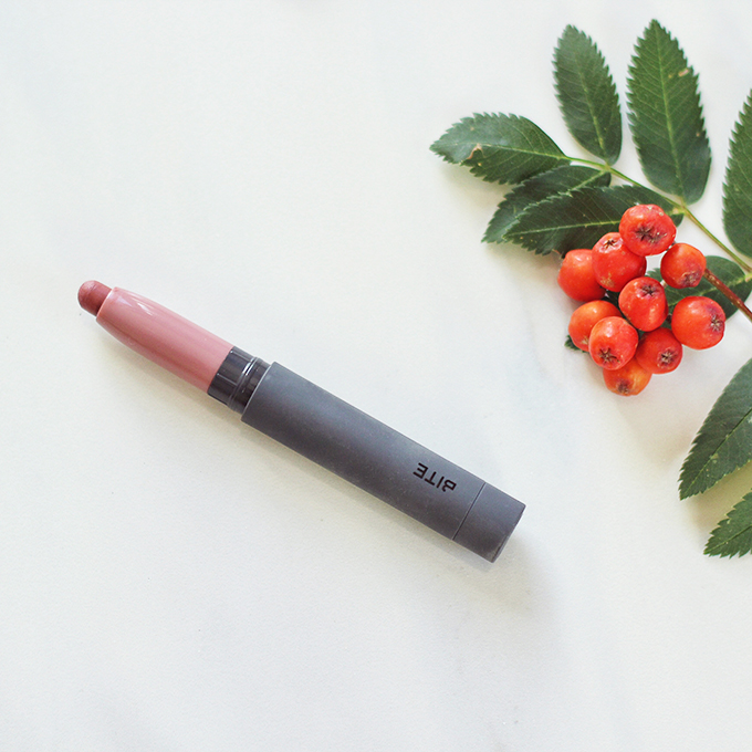 Bite Beauty Matte Crème Lip Crayon in Glacé Photos, Review, Swatches