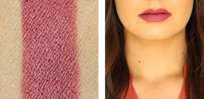 Maybelline Color Sensational Creamy Matte Lipstick in Touch of Spice Photos, Review, Swatches