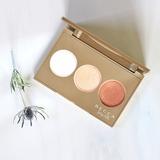 BECCA Shimmering Skin Perfector Pressed Champagne Glow Palette Photos, Review, Swatches