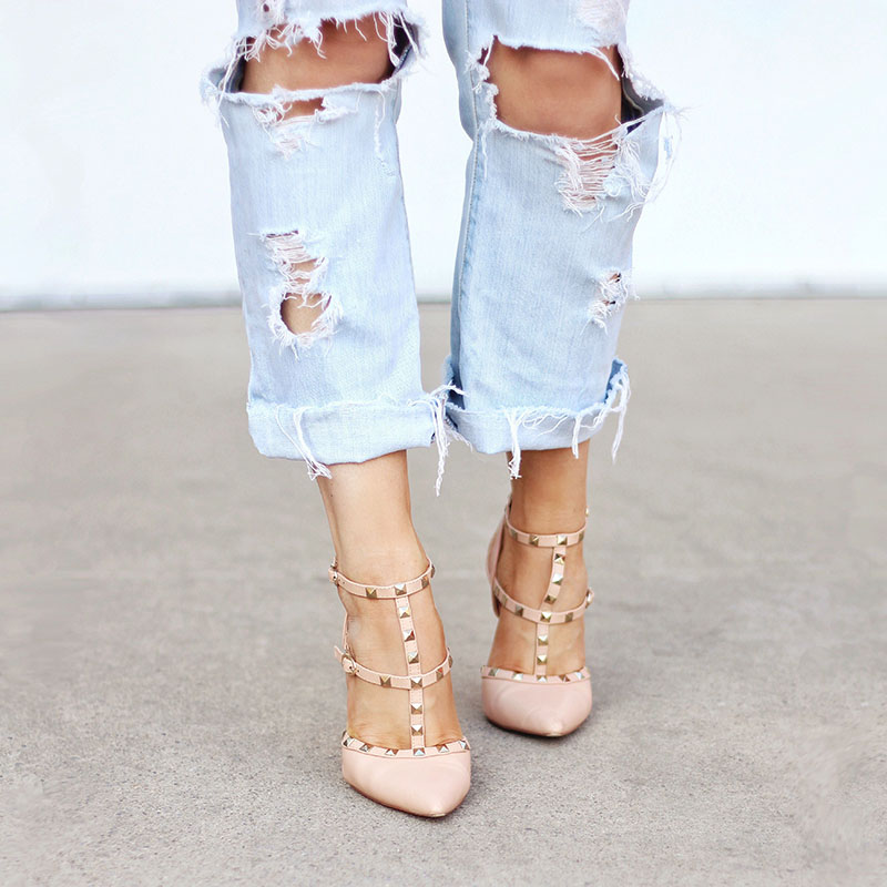 DIY | Distressed Boyfriend Jeans