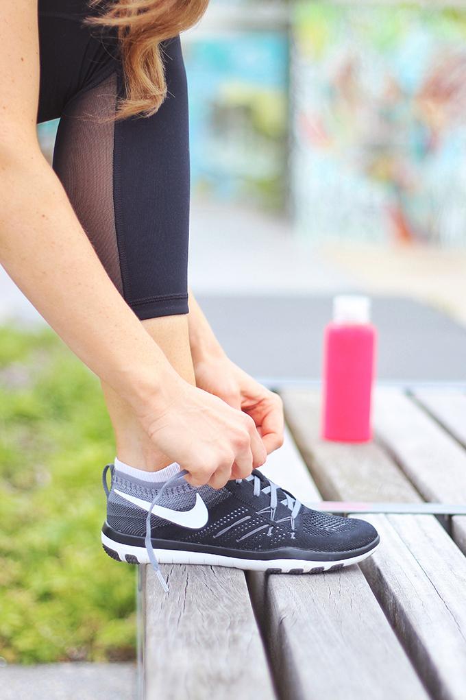My Fitness Routine // JustineCelina.com