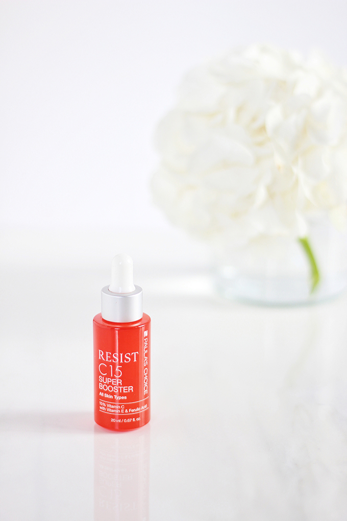 Paula's Choice Resist C15 Super Booster Review | 5 Powerhouse Skincare Ingredients // JustineCelina.com