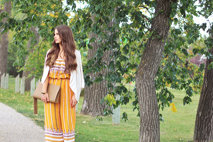 How to Style It | Jumpsuits & Transitional Summer to Autumn Dressing // JustineCelina.com