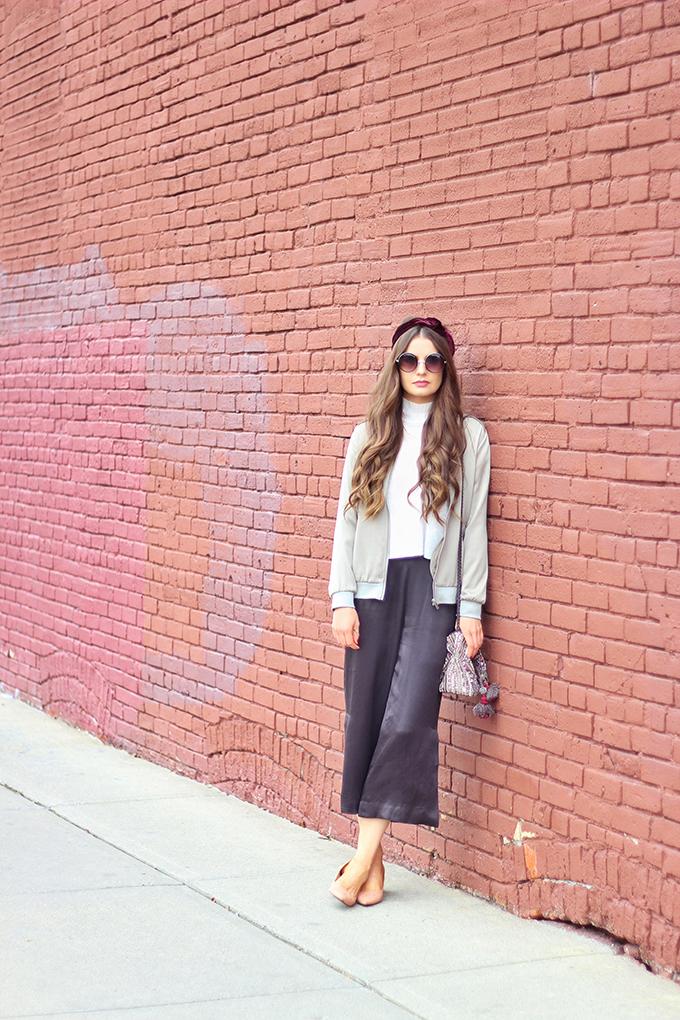 Autumn 2016 Trend Guide | Urban Gypsy | Satin // JustineCelina.com