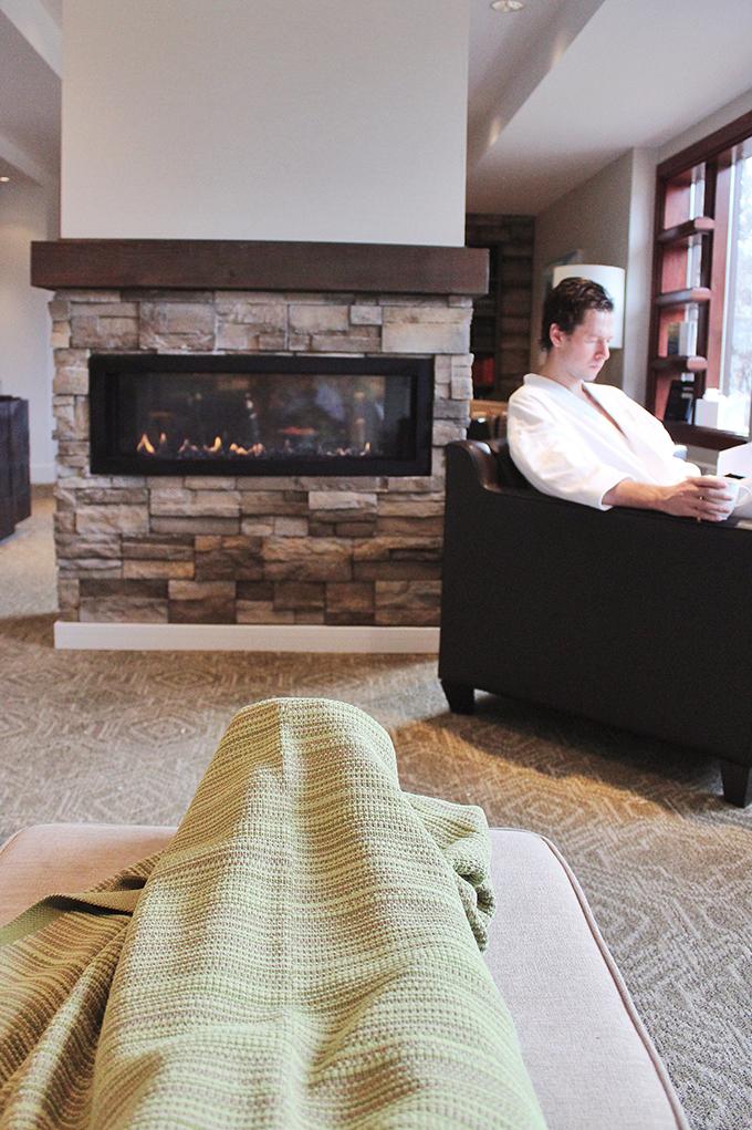 The Spa at Fairmont Jasper Park Lodge // JustineCelina.com
