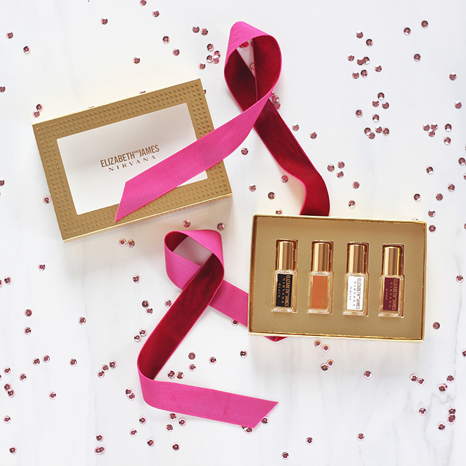 Holiday 2016 Gift Guide for Beauty Lovers | Elizabeth and James Find Your Nirvana Rollerball Set // JustineCelina.com