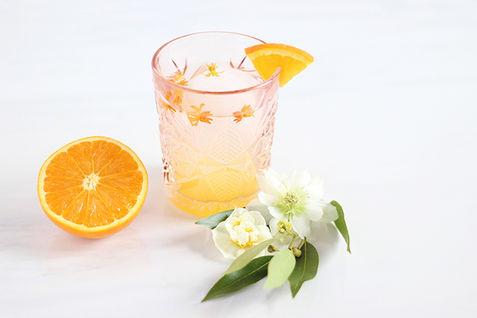 Coastal Orange Blossom Gin Cocktail // JustineCelina.com