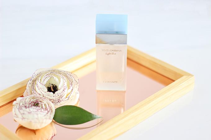 Dolce & Gabbana Light Blue Eau de Toilette Photos, Review // JustineCelina.com