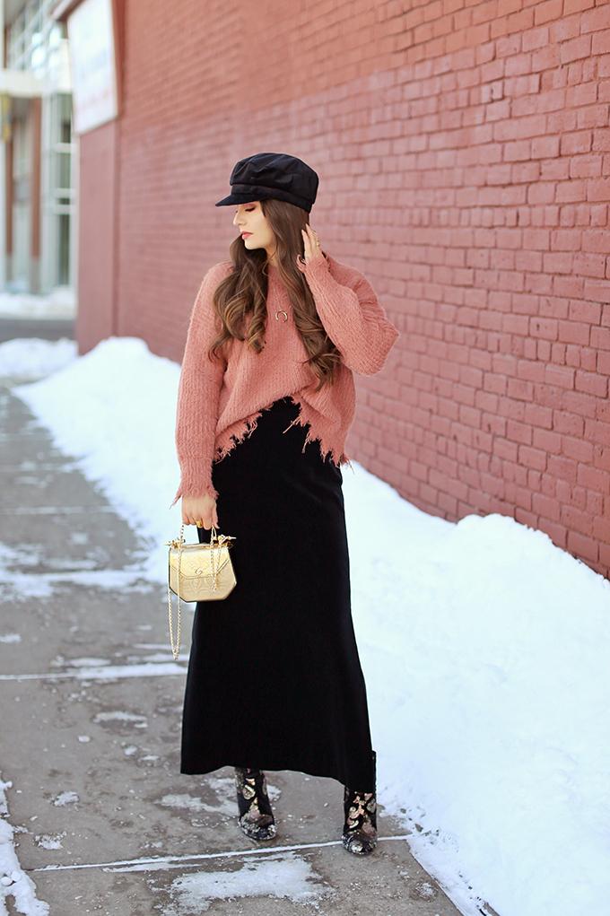 Winter 2018 Trend Guide | Velvet Underground | Key Winter to Spring Transitional 2018 Trends | Calgary, Alberta, Canada Fashion Blogger // JustineCelina.com